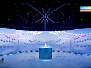 Мария Мудряк EXPO-2017 көрмесінің ашылуында халық әні «Япурайды» орындады