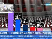 Франция да парламенттік Эммануэль Макрон партиясы жеңді