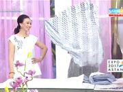 Бірге таңдаймыз - Сәбиді перзентханадан шығарып алуға арналған конверт тігу (Толық нұсқа)
