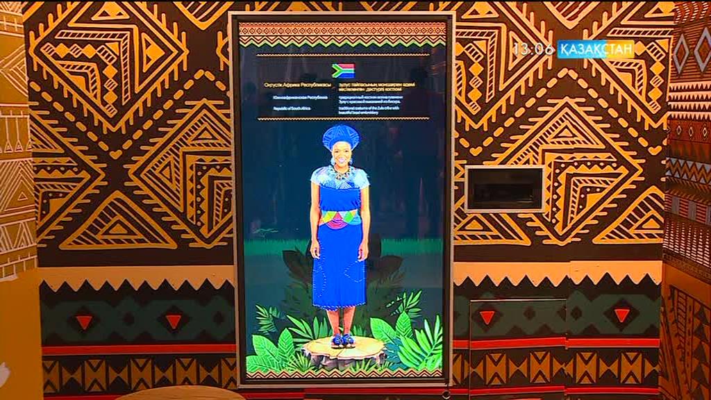 «ЭКСПО» көрмесіне Африка құрлығынан бірнеше мемлекет қатысып жатыр