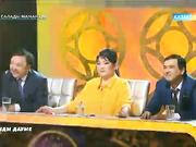«Ән салады мамандар» жобасының финалында  «Каспий әуендері»  тобы шетелдік ән орындады