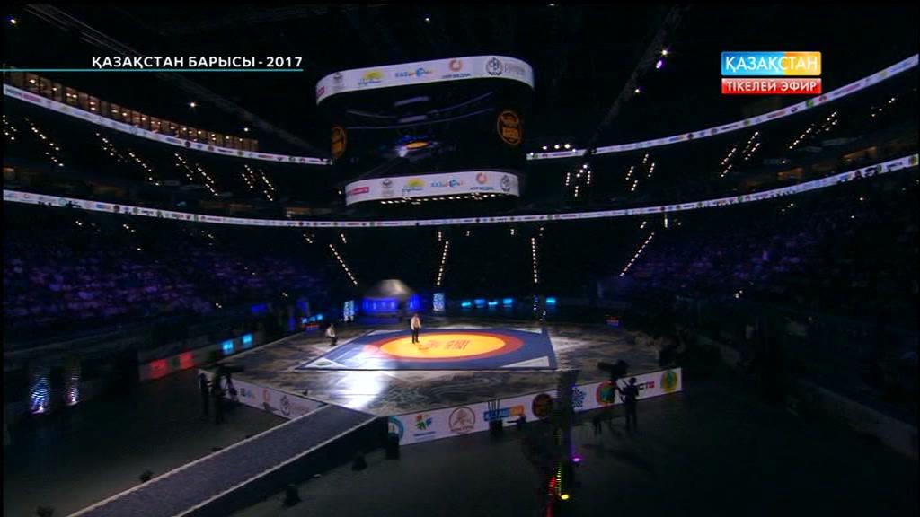 «Қазақстан барысы-2017». Ғизат Қалықов пен Арман Қалиев