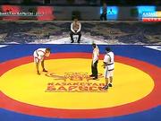 Ұлан Рысқұл алғашқы белдесуінде бар-жоғы 23 секундта жеңіске жетті