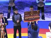 7-ші «Қазақстан барысы» турнирінің алтын белбеу иегері Еламан Ерғалиевті жеңісімен құттықтаймыз!