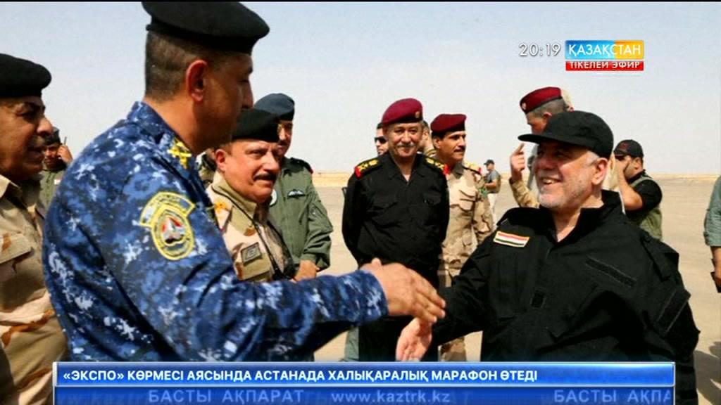Ирак премьер-министрі жауынгерлерді «ДАИШ»-ты жеңгені үшін құттықтады