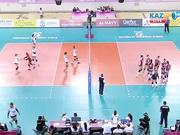 Волейбол. Этап Мирового Гран-при (Алматы). Хорватия - Германия