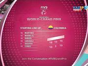 Волейбол. Этап Мирового Гран-при (Алматы). Германия - Колумбия