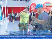 Қазақстандық танымал альпинист Мақсұт Жұмаев «ЭКСПО» көрмесіндегі Австрия павильонының биіктігін бағындырды