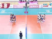 Волейбол. Этап Мирового Гран-при (Алматы). Казахстан - Хорватия