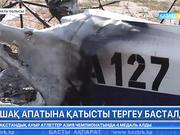 Алматы облысындағы ұшақ апатына қатысты тергеу басталды