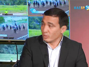 «Kazsport» қонағы - Мұратбек Қыпшақбаев