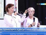 Финляндия павильонында бактерияларға қарсы жиһазды дайындау тәсілі таныстырылды