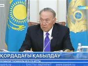 Мемлекет басшысы Ұжымдық қауіпсіздік келісімі ұйымының Бас хатшысы Юрий Хачатуровпен кездесті