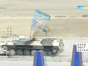 «Ақсауыт». «АРМИ-2017. Айбынды артиллерияшылардың додасы» Отар қаласы (Толық нұсқа)