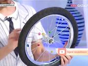 Велосипед дөңгелегін қалай безендіруге болады?