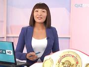 В программе на телеканале «QAZSPORT» чемпионка мира Фируза Шарипова получила сертификат о вхождении в Казахстанскую книгу рекордов