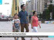 Бүгін Астанада бұршақ жауып, қатты жел соғады