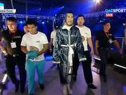 Қазақстандық боксшы Айдос Ербосынұлы қарсыласын техникалық нокаутпен жеңді (ВИДЕО)