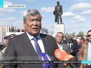 Степногорск қаласында Қаныш Сәтбаевтың ескерткіші ашылды