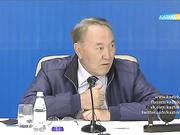 Елбасы Н.Назарбаевтың Солтүстік Қазақстан облысы  жұртшылығымен кездесуі. Арнайы хабар