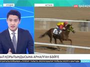 Астанада жыл қорытындысына арналған ат жарысы өтті