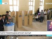 Ирактағы күрдтер референдум өткізіп жатыр