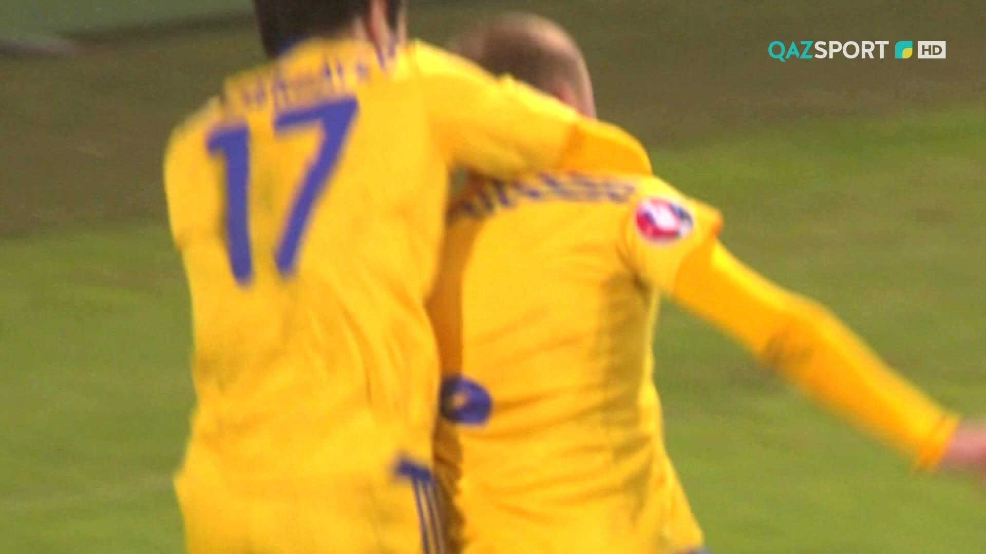 Телеканал «QAZSPORT»  покажет в прямом эфире футбольный матч Румыния - Казахстан