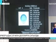 Қытайда фарфор ыдыс 37 млн. долларға сатылды