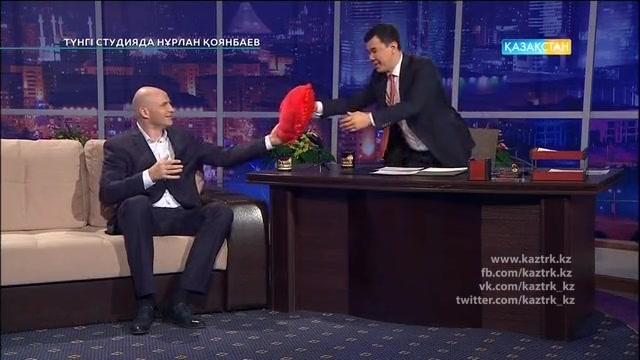 Иван Дычко - бокстан Рио Олимпиадасының қола жүлде иегері. Түнгі студияда Нұрлан Қоянбаев