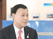 «Арнайы сұхбат». Жапония Парламенті Сыртқы істер вице-министрі Мотоме Токисава