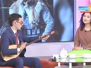 Түрік ұлтының өкілі Сабир Гусейнов 13  жыл бойы домбыраны қасына серік етіп келеді