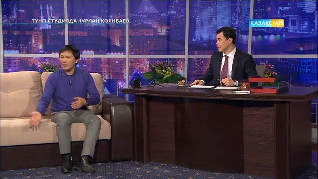 Құрмаш Маханов- әнші. Түнгі студияда Нұрлан Қоянбаев