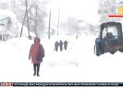 Алматы облысында 6 бірдей ауыл қар құрсауында қалды