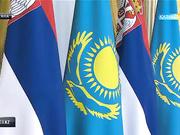 Елбасы елімізге ресми  сапармен келген Сербия Премьері А.Вучичті қабылдап, екіжақты келіссөздер жүргізді