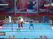 Бокстан Қазақстан чемпионаты: Шалқар Айқынбай (49кг) қарсыласы Махмұт Ерланнан (49кг)  басым түсті