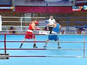 Бокстан Қазақстан чемпионаты: Ермек Мәдиев алғашқы айналымнан сүрінбей өтті