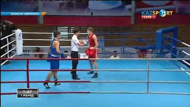 Бокстан Қазақстан чемпионаты: Жәнібек Мұратов (64 кг) келесі айналымға өтті