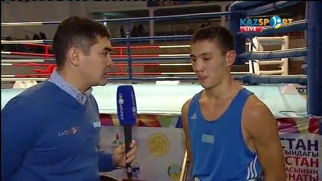 Боксшы Қамбар Ғиниятов: Қазақстан чемпионатына әлсіз боксшылар келмейді