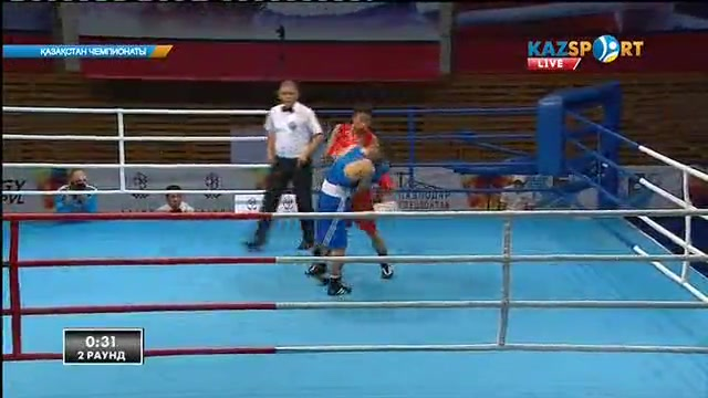 Бокстан Қазақстан чемпионаты: Сәкен Бибосынов (52 кг) келесі айналымға өтті