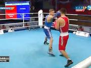 Бокстан Қазақстан чемпионаты: Олжас Байниязов (52 кг) қарсыласы Оразбек Асылқұловты (52 кг) жеңді