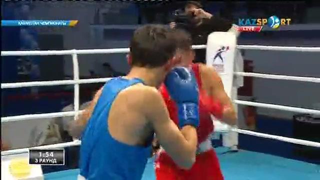 Бокстан Қазақстан чемпионаты: Бағдат Толыбаев (52 кг) алғашқы айналымда жеңіске жетті