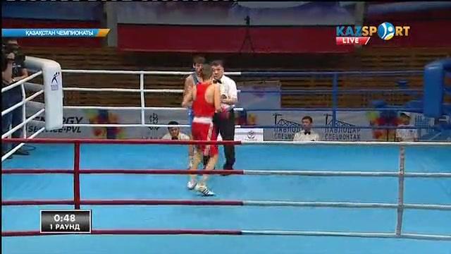 Бокстан Қазақстан чемпионаты: Рүстем Шәуменов (52 кг) келесі айналымға өтті