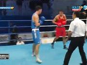 Бокстан Қазақстан чемпионаты: Жәнібек Әлімханұлы жаңа салмақтағы алғашқы жеңісіне қол жеткізді