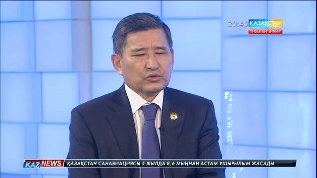 Студия қонағы - Бағлан Мақұлбаев