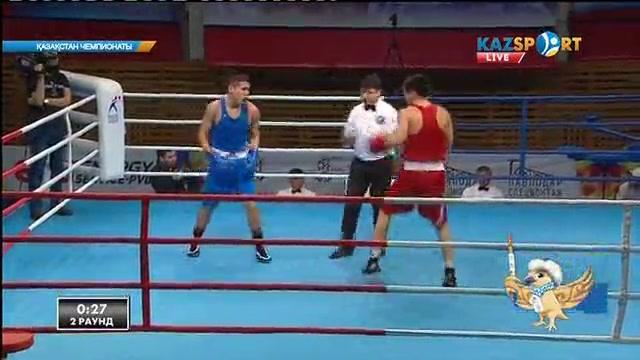 Бокстан Қазақстан чемпионаты: Нұржан Жақан (81 кг) келесі айналымға өтті