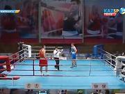 Бокстан Қазақстан чемпионаты: Қамшыбек Қоңқабаев (+91 кг) қарсыласынан басым түсті