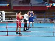 Бокстан Қазақстан чемпионаты: Нұржан Бекзатов (+91 кг) барлық мәселені бірінші раундта шешті
