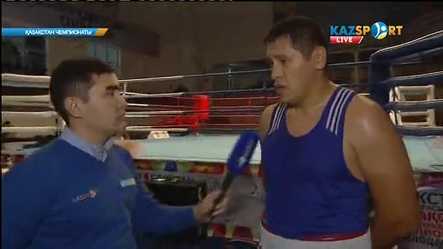 Боксшы Нұржан Бекзатов: Мақсатымыз - ел біріншілігінде өз-өзімізді көрсету