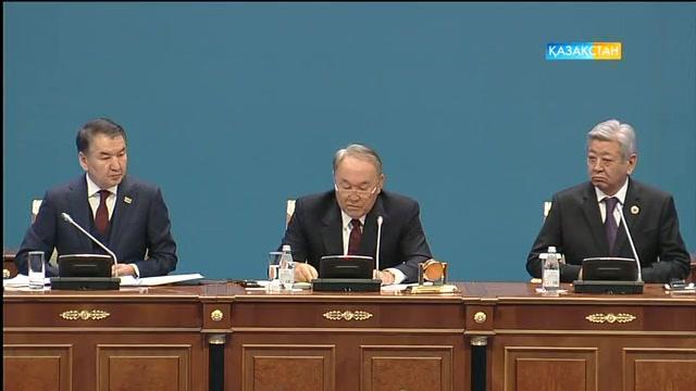 ҚР Президенті Н.Назарбаевтың қатысуымен Қазақстан судьяларының VII сьезі. Арнайы хабар