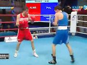 Бокстан Қазақстан чемпионаты: Бекжан Құраловқа (56 кг)  қарсы жекпе-жекте Абылай Сайлаубеков (56 кг) бірауыздан жеңімпаз деп танылды